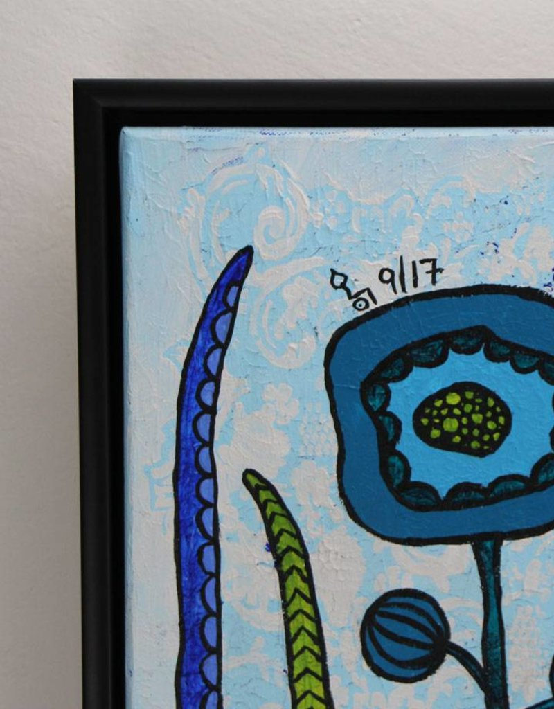 Originalbild Flowers Blue