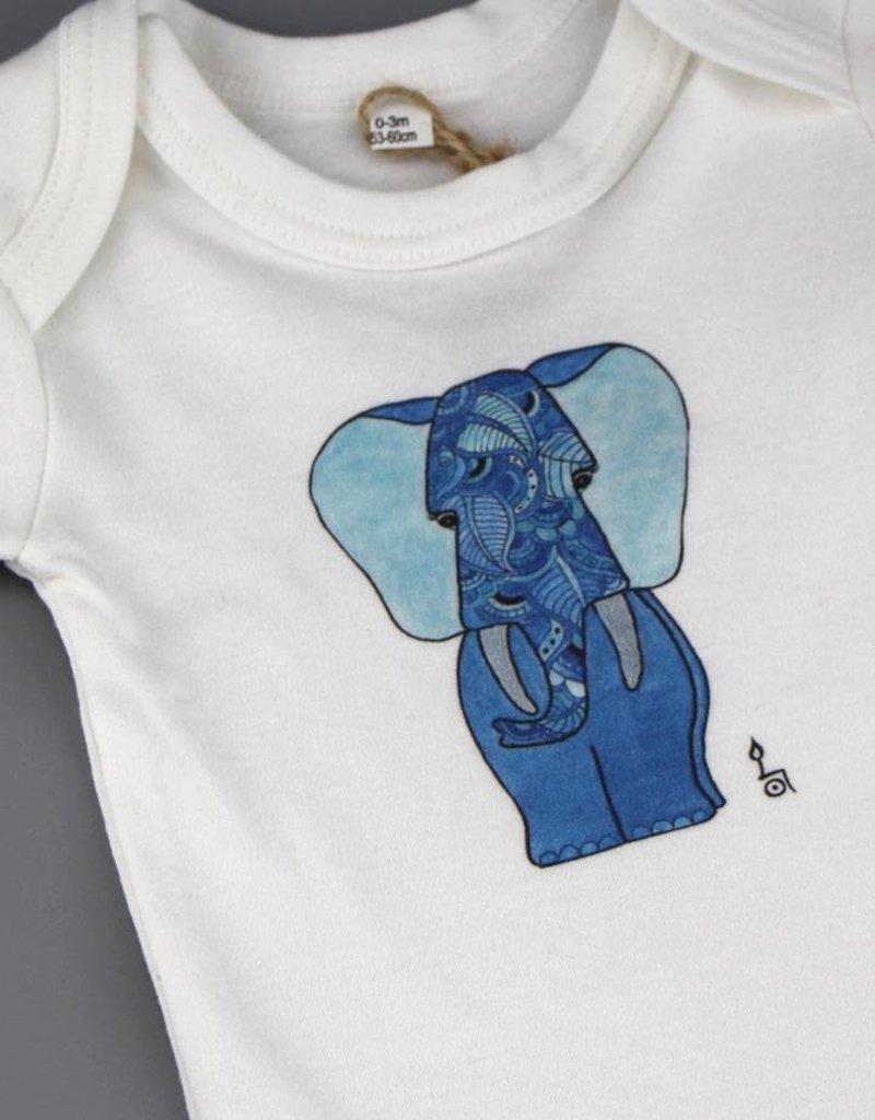 Baby Body Fant blau