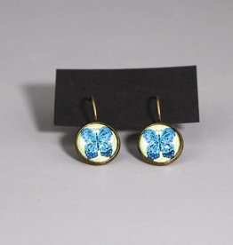 "Hanging earrings ""Schmetterling blau"""