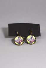 """Hanging earrings """"Butterly be yourself"""""""