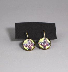"Hanging earrings ""Butterly be yourself"""
