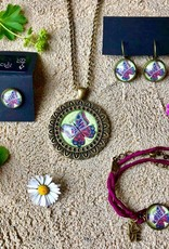 """Necklace """"Schmetterling be yourself"""""""