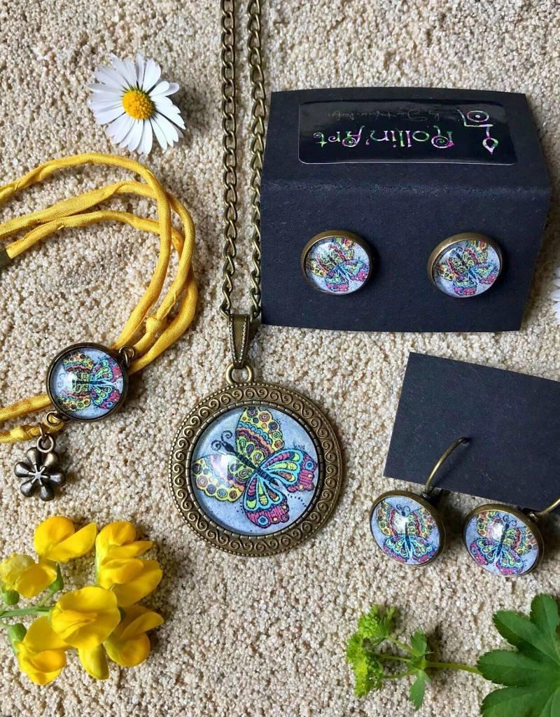 "Necklace ""Schmetterling bunt"""