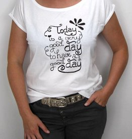 Damen T-Shirt Good Day