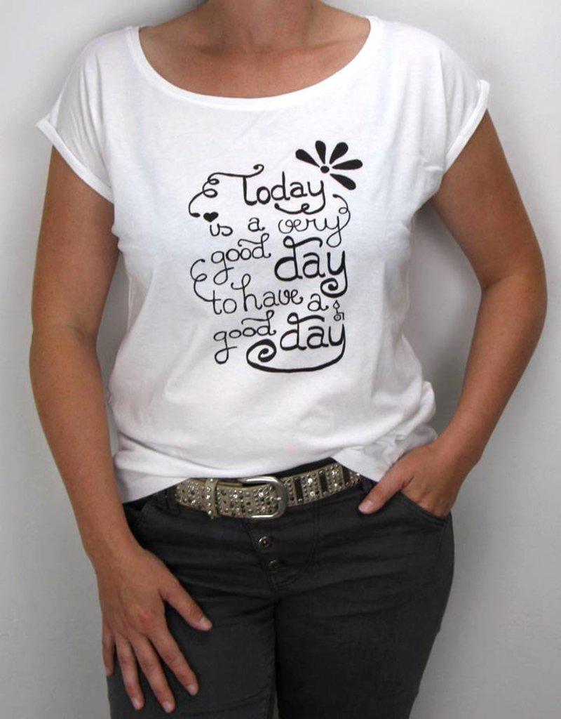 Damen T-Shirt Good Day