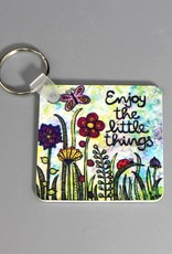 "Key chain ""Enjoy the little things"""