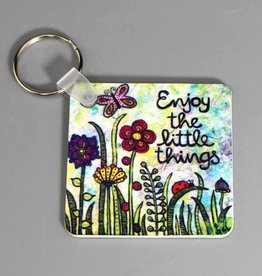 "Key chain ""Enjoy the little things"""