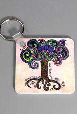 Schlüsselanhänger Lebensbaum