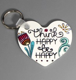 "Key chain ""Think happy"""