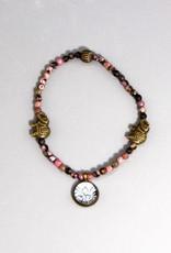 Buddha Armband Rhodonit