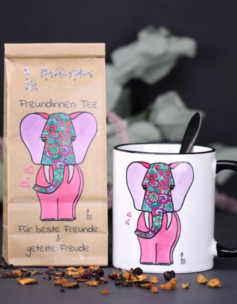 Freundinnen Tee