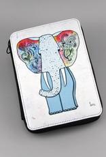 """Pencil case """"Hippiefant"""""""