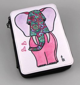 "Pencil case ""Pink lady"""