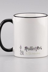 """Ceramic mug """"Welt verzaubern"""""""
