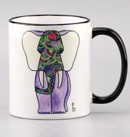 "Tasse ""Aquarellfant"""