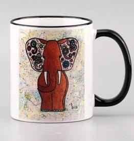 """Ceramic mug """"Kupferfant"""""""