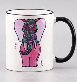 "Ceramic mug ""Pink Lady"""
