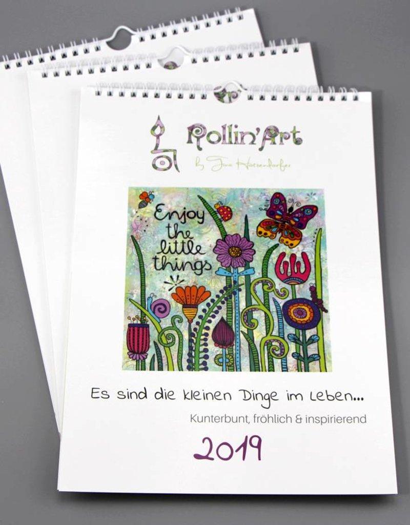 """Calender """"Rollin'Art 2019"""""""