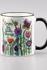 "Ceramic mug ""Enjoy the little things 2.0"""