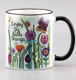 "Ceramic mug ""Enjoy the little things 2.0"""