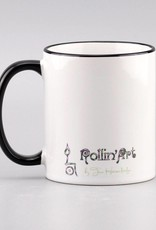 "Ceramic mug ""Glück ist... Bruder"""