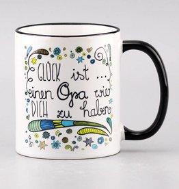 "Tasse ""Glück ist... Opa"""