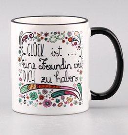 """Tasse """"Glück ist... Freundin"""""""