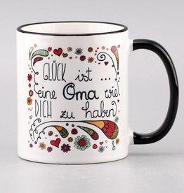 """Tasse """"Glück ist... Oma"""""""