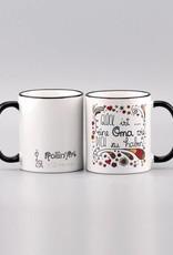 """Ceramic mug """"Glück ist... Oma"""""""