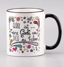 "Tasse ""Glück ist... Godi"""