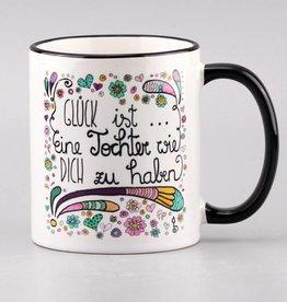 """Tasse """"Glück ist... Tochter"""""""