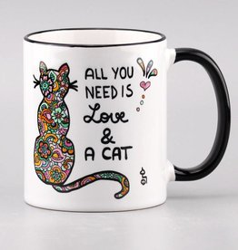 "Tasse ""All you need is ... cat"""