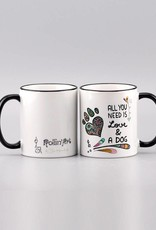 "Tasse ""All you need is ... dog"""