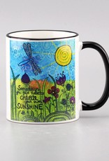 """Ceramic mug """"Sunshine"""""""