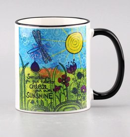 "Ceramic mug ""Sunshine"""