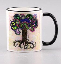 """Ceramic mug """"Lebensbaum"""""""
