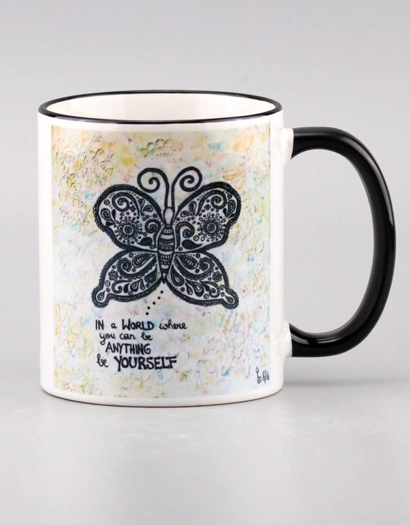 "Tasse ""Be yourself"""