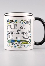 "Tasse ""Glück ist ... Lehrer"""