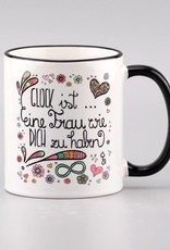 """Tasse """"Glück ist.. Frau"""""""