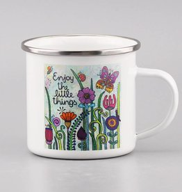 "Enamel mug ""Enjoy the little things 2.0"""