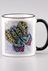 "Tasse ""Schmetterling bunt"""