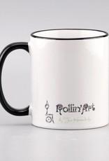 "Ceramic mug ""Glück ist... Freund"""