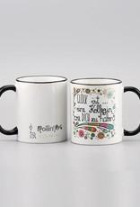 "Ceramic mug ""Glück ist... Kollegin"""