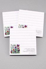 "Notepad set of 3 ""Enjoy the little things"""