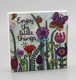 "Printing on wood S ""Enjoy the little things 2.0"""