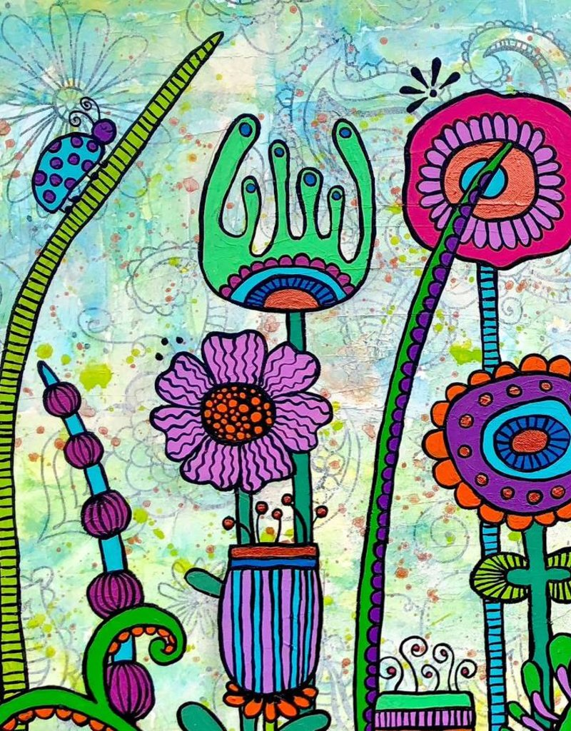"Original Painting ""Oh happy day"""