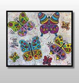 "Original Painting ""Mariposas"""