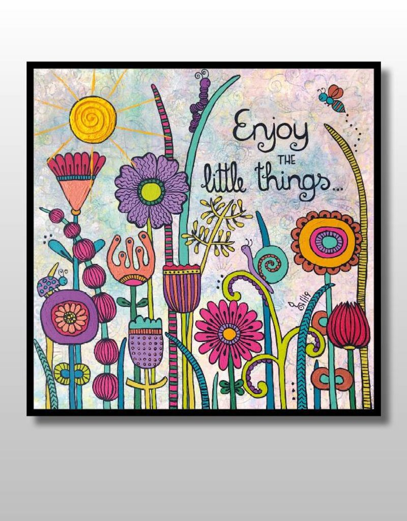 """Original Painting """"Enjoy the little things 3.0"""""""
