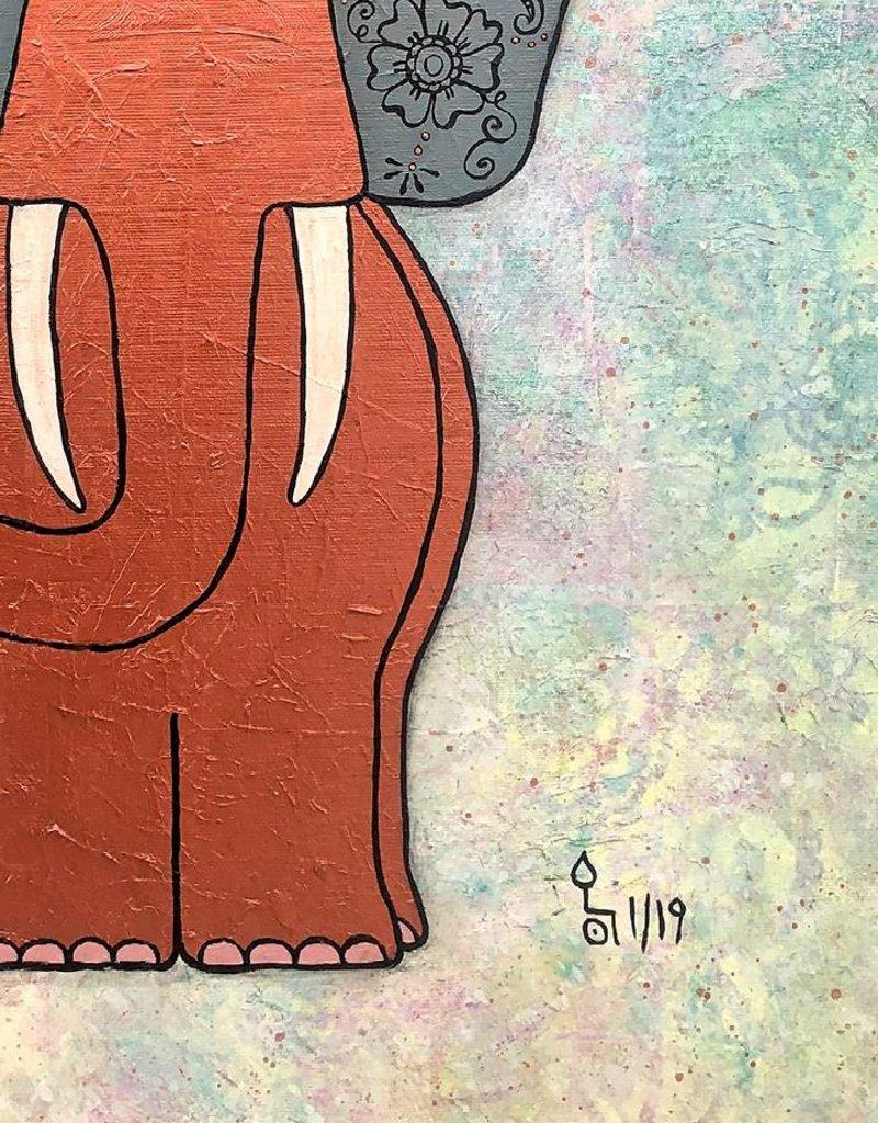 """Original Painting """"Yuki"""""""