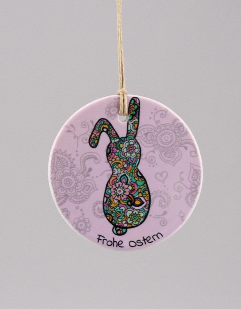 "Ceramic hanger ""Happy Easter"""